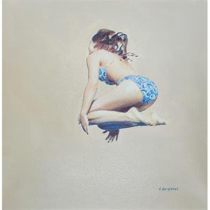 Sergi Castignani girl sauter 01 36 x 36 cm