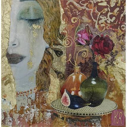 Karine Romanelli Le temps d'un songe 19 x 19 cm