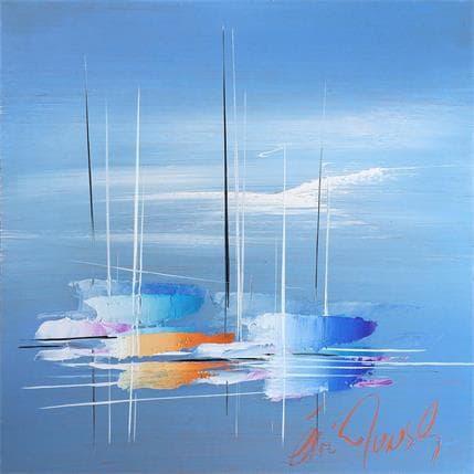Eric Munsch A blue day 25 x 25 cm